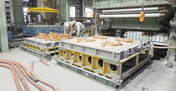 Vプロセス鋳造