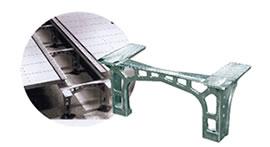 【アルミ鋳物】IT装置収納床フレーム【AC4CH-T6】