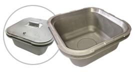 【食品機器】業務用炊飯釜 Vプロセス鋳造 滑らかな鋳肌【AC4C-F】